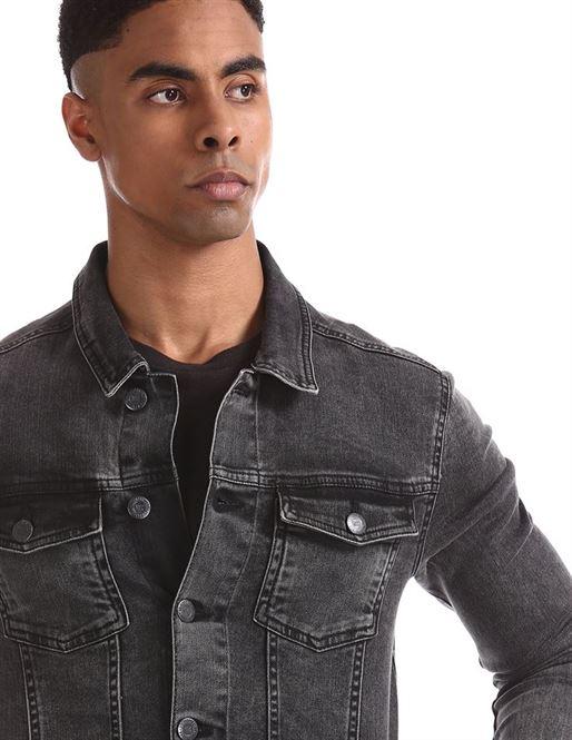 Aeropostale Men's Casual Wear Denim Jacket
