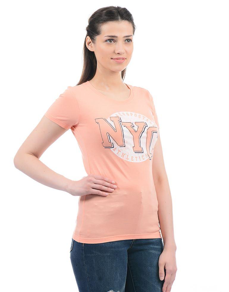 Aeropostale Women Printed Casual wear T-Shirt