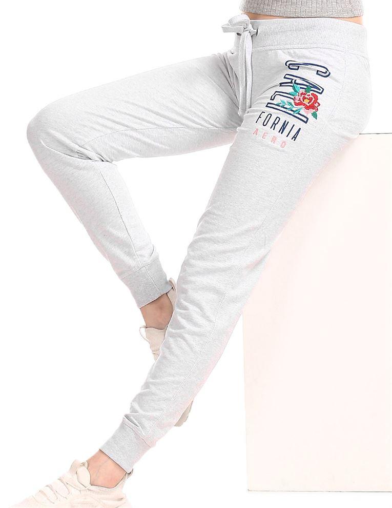 Aeropostale Women Casual Wear Solid Joggers