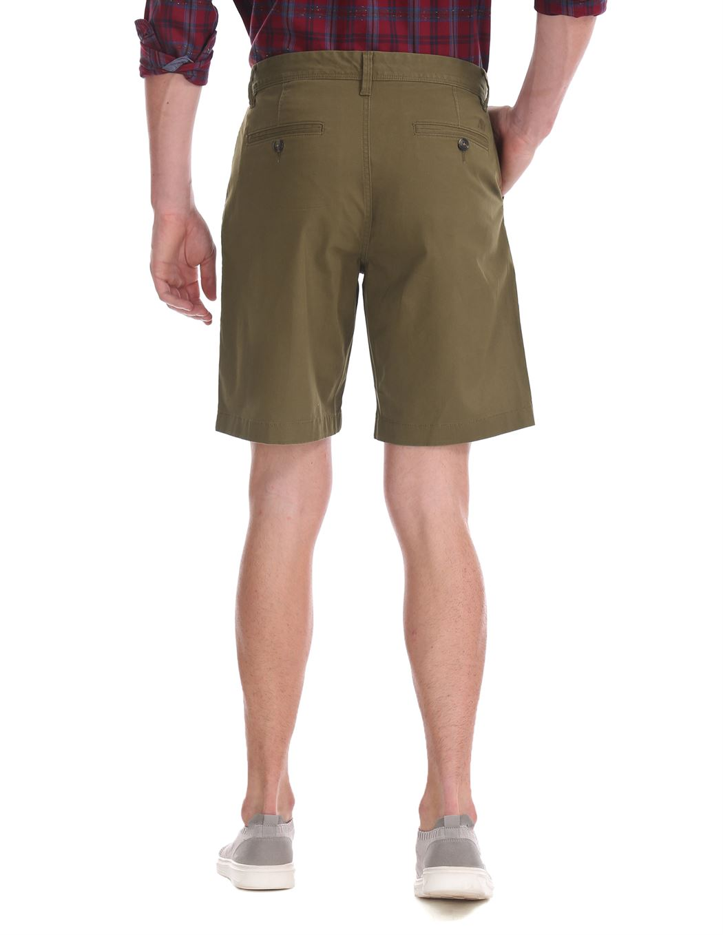 Aeropostale Men Casual Wear Solid Shorts