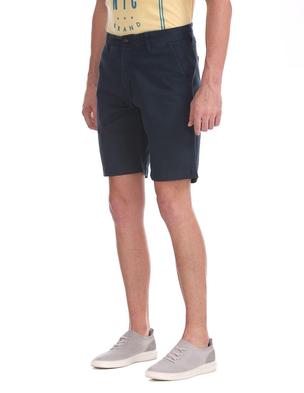 Aeropostale Men Casual Wear Solid Shorts