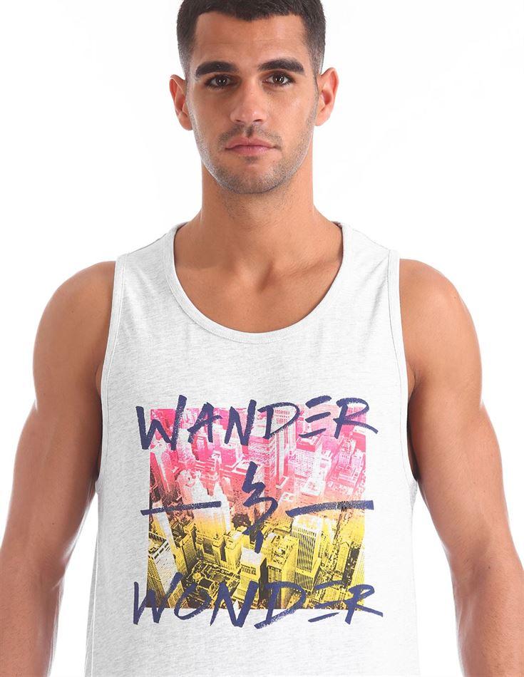 Aeropostale Men Casual Wear Graphic Print T-Shirt