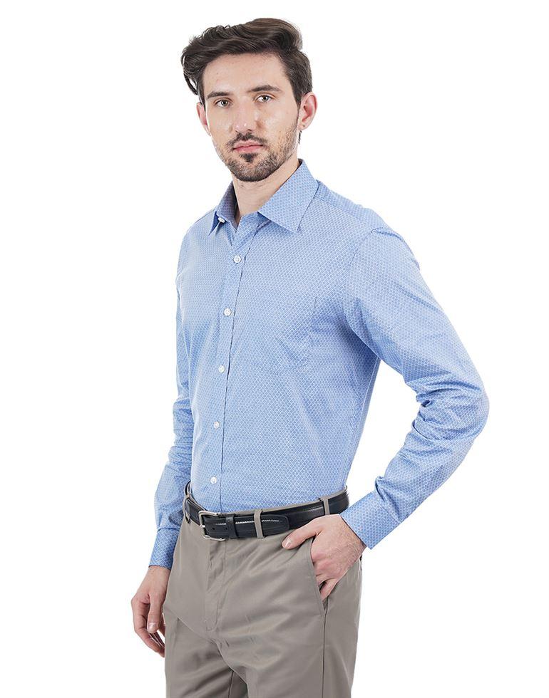 Arrow Men Printed Formal Wear Shirt