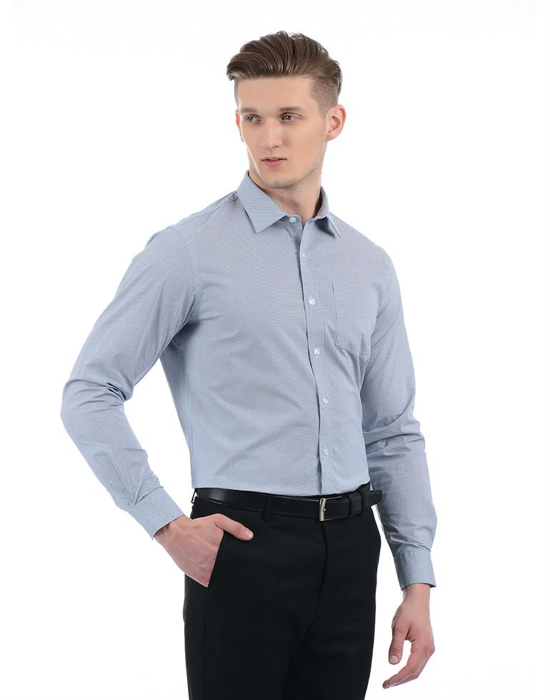 Arrow Men Formal Wear Textured Shirt