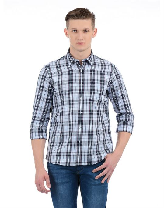 Arrow Sport Men Casual Wear Checkered Shirt