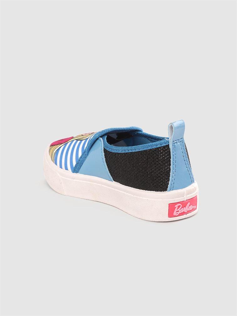 Barbie Girls Sky Blue Casual Wear Shoes