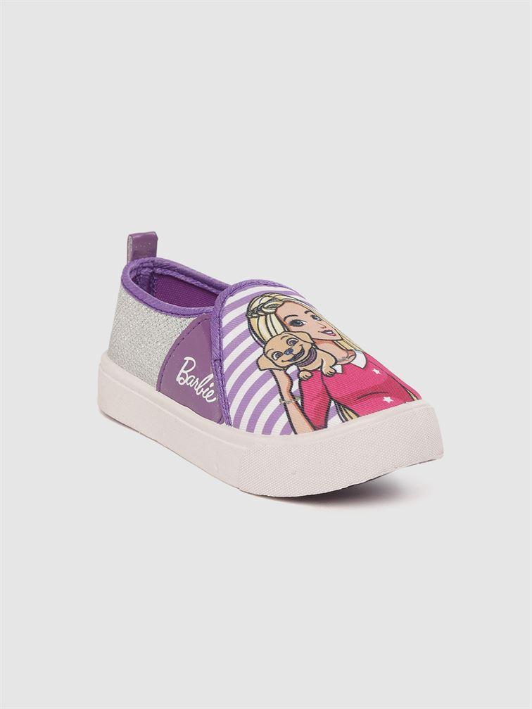 Barbie Girls Purple Casual Wear Shoes