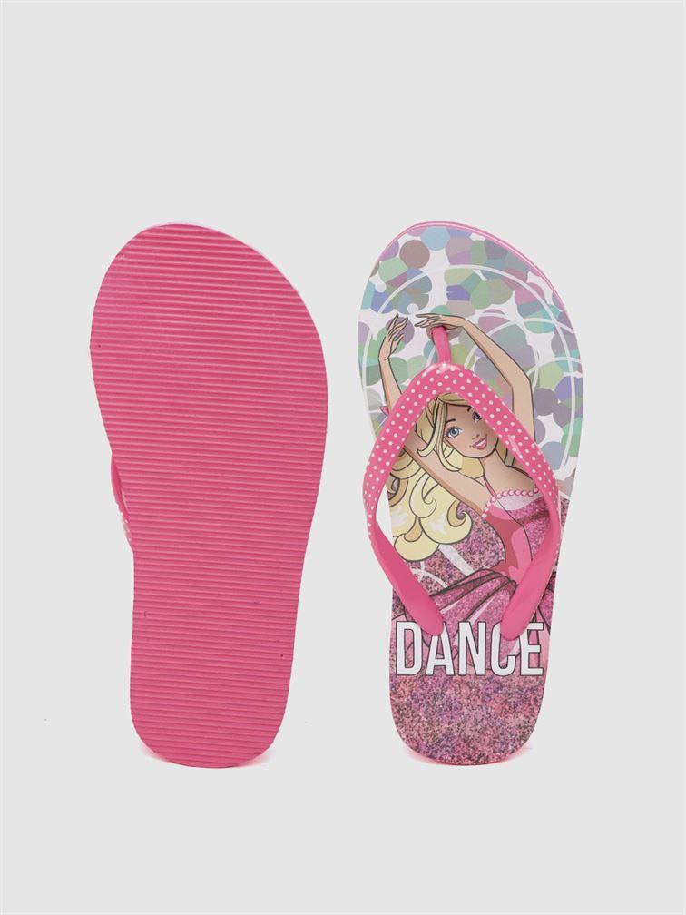 Barbie Girls Pink Casual Wear Filp-Flops