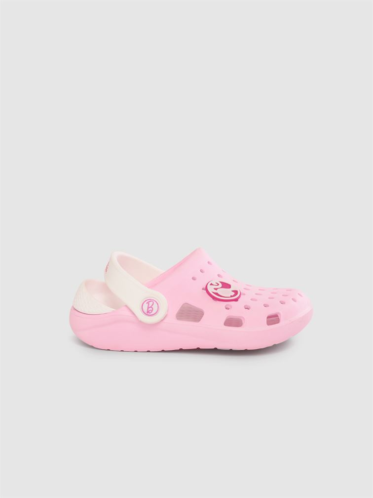 Barbie Girls Pink Casual Wear Clogs