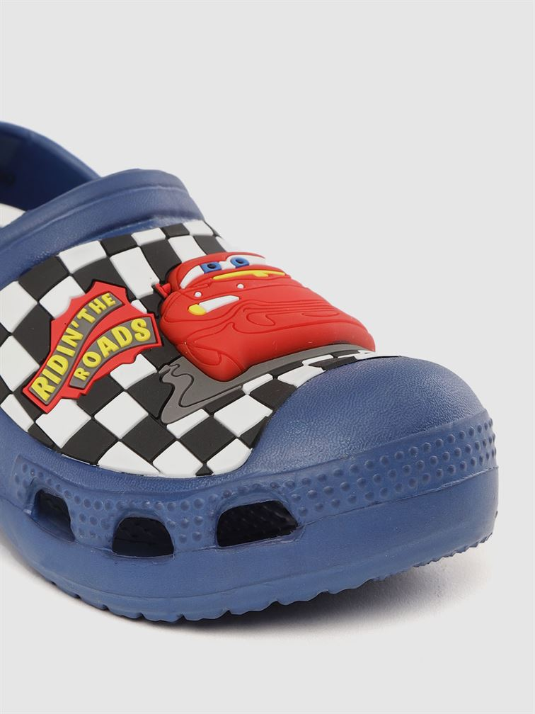 Cars Boys Blue Casual Wear Clogs