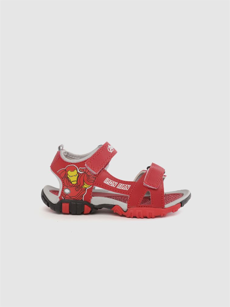 Marvel Boys Red Casual Wear Sandals