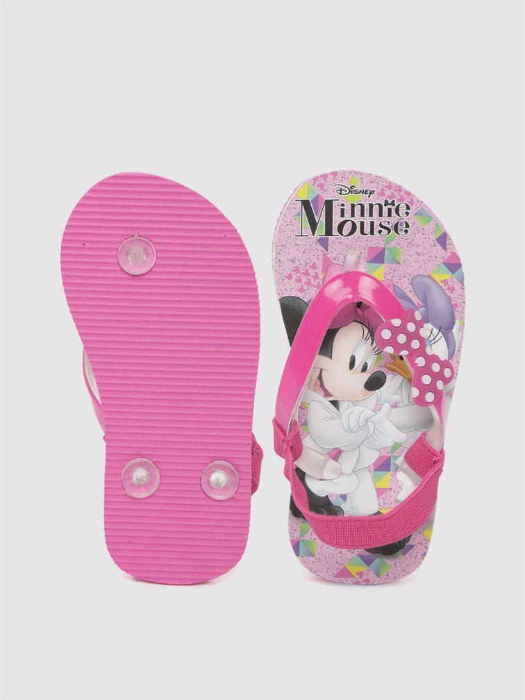 Minnie Girls Pink Casual Wear Filp-Flops