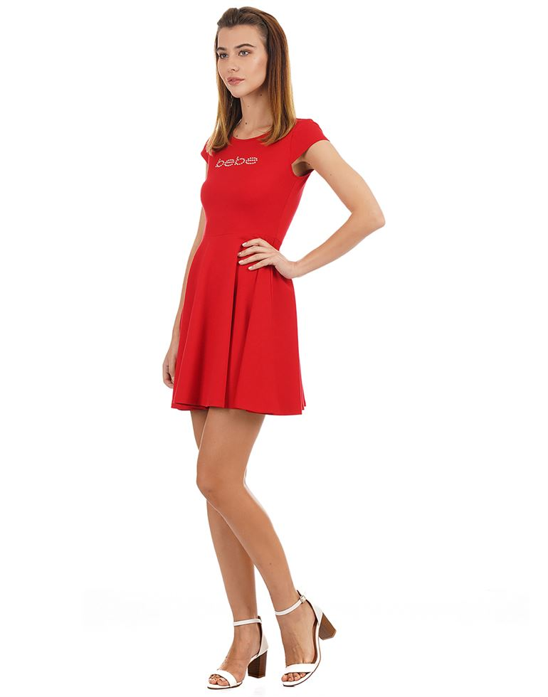 Bebe Women Casual Wear Solid Dress