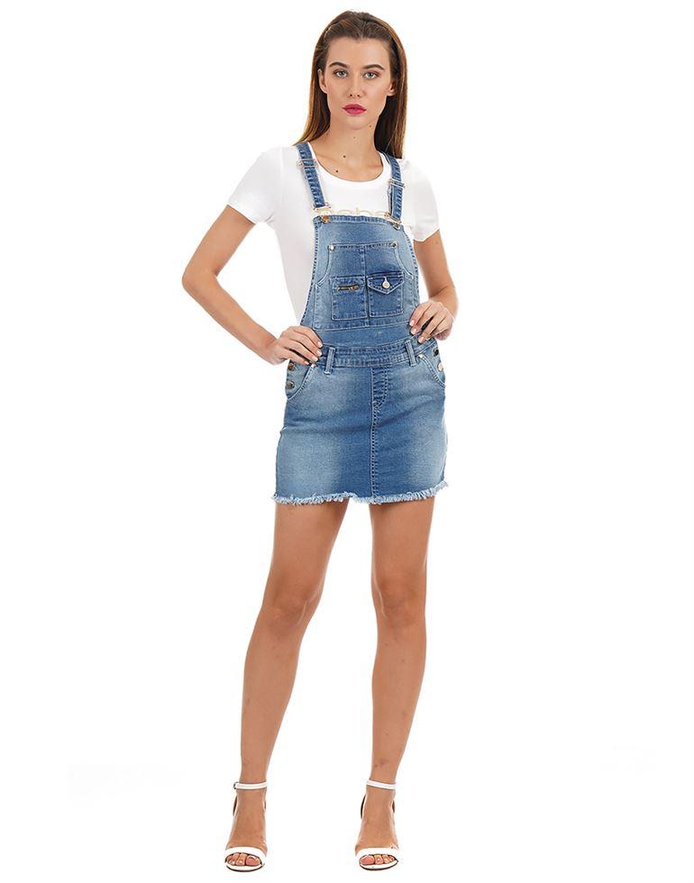 Bebe Women Casual Wear Solid Dungaree