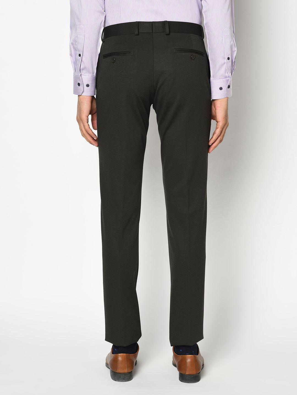 Blackberry Men Formal Wear Black Trousers