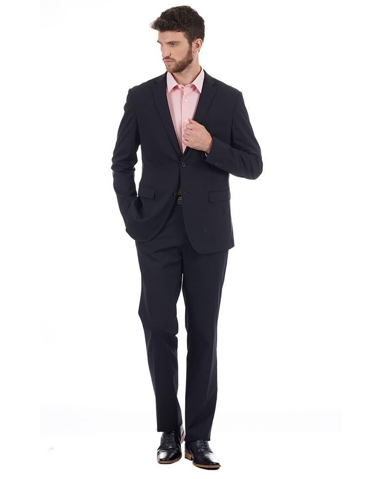 Blackberry Men Formal Wear Solid Suit