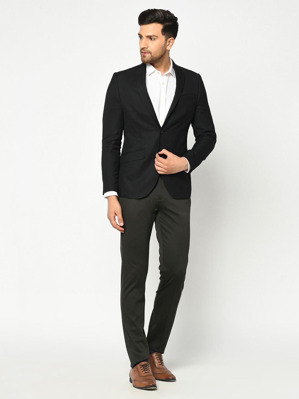 Blackberry Men Formal Wear Black Blazer