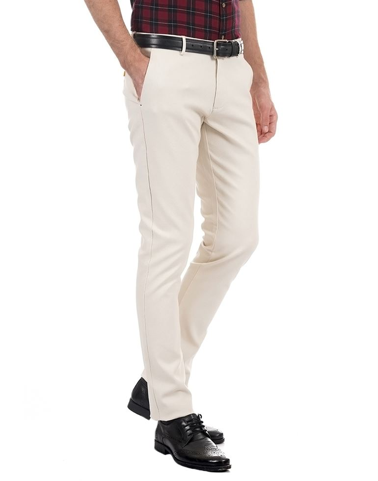 BlackBerry Men Casual Wear Solid Trousers