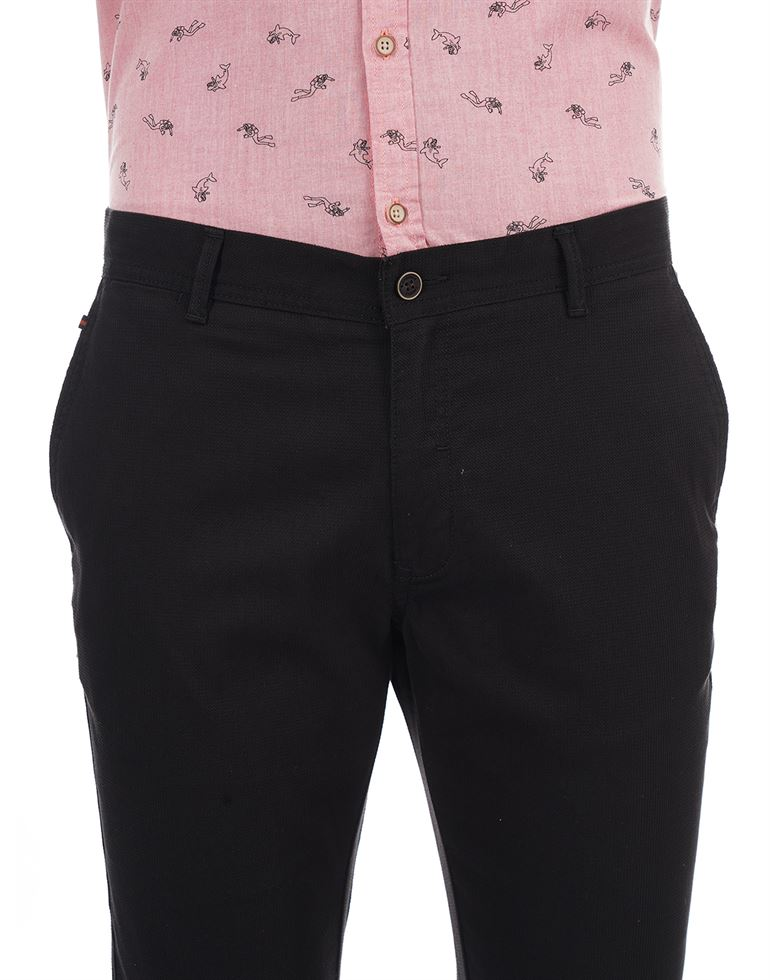 BlackBerry Men Formal Wear Solid Trousers