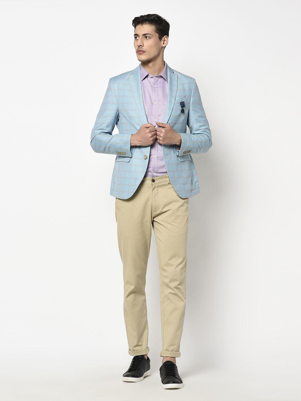Blackberry Men Formal Wear Blue Blazer