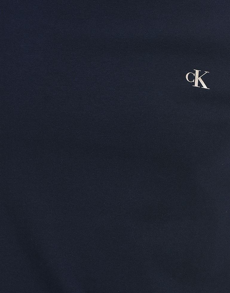 Calvin Klein Men Casual Wear Navy Blue T-Shirt