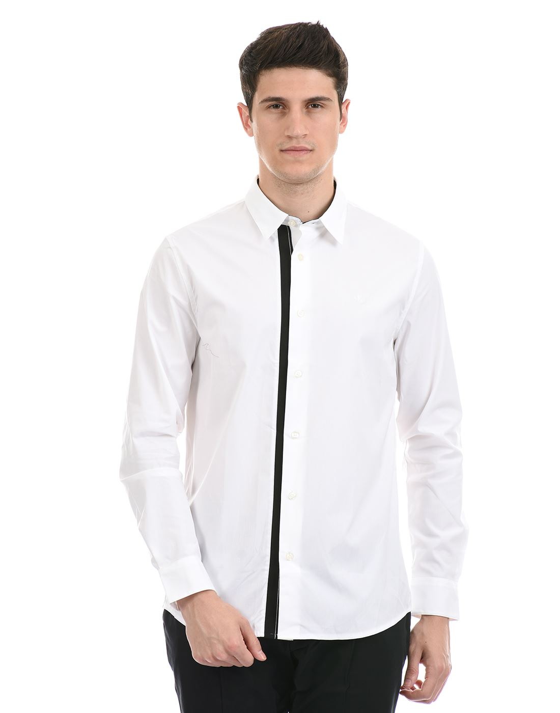 Calvin Klein  Men Casual Wear White Shirt