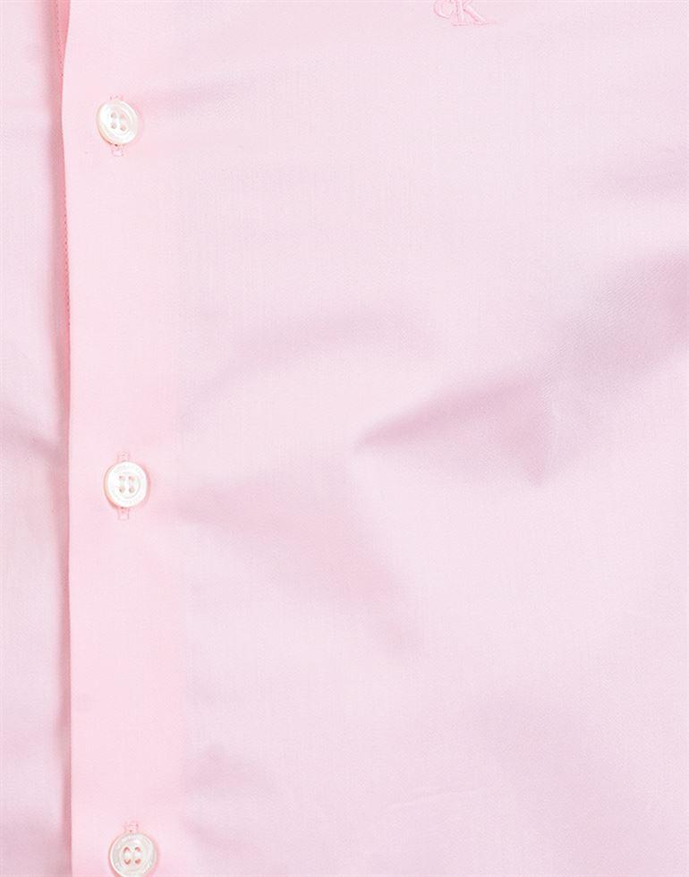 Calvin Klein Men Casual Wear Pink Shirt