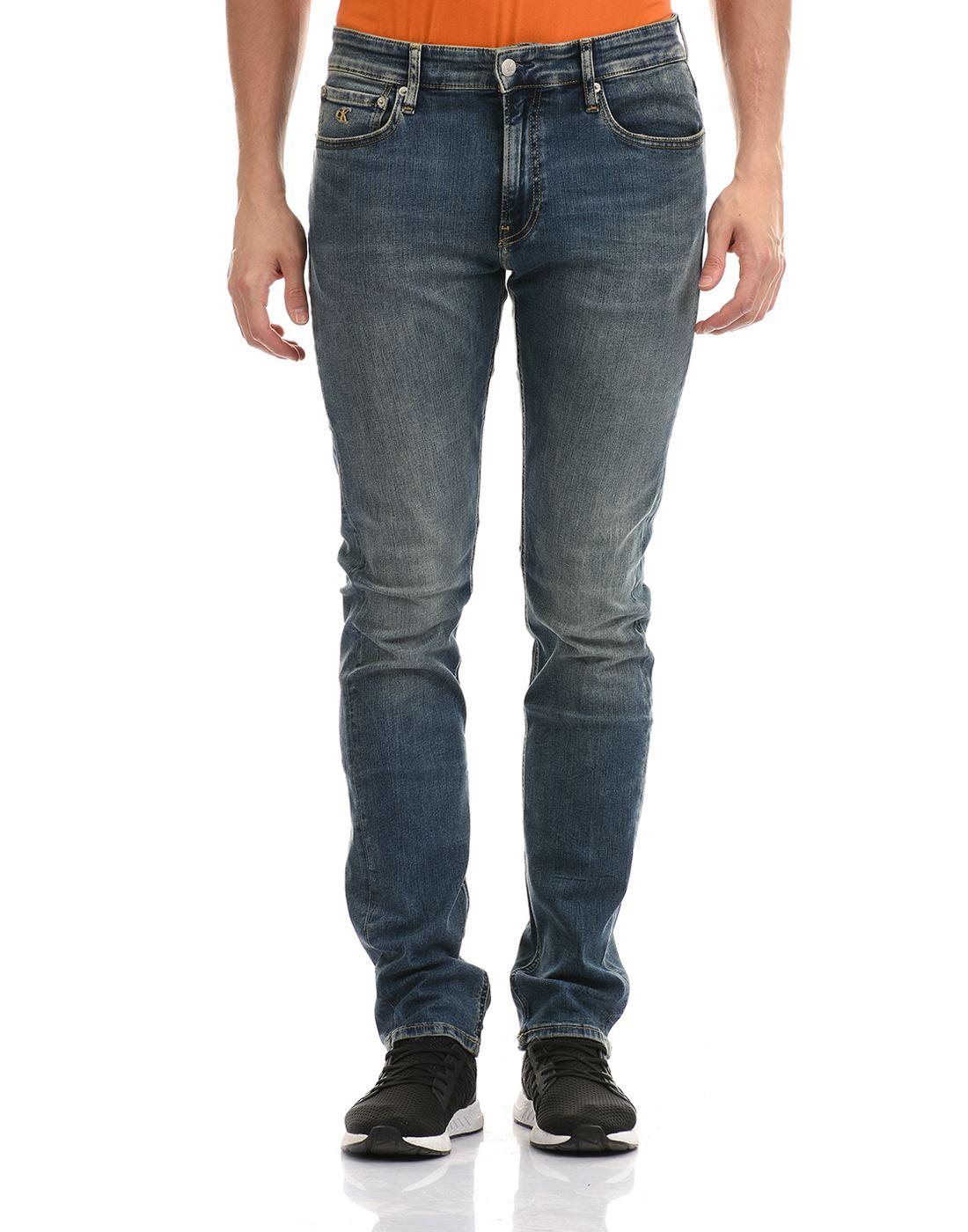 Calvin Klein  Men Casual Wear Blue Jeans