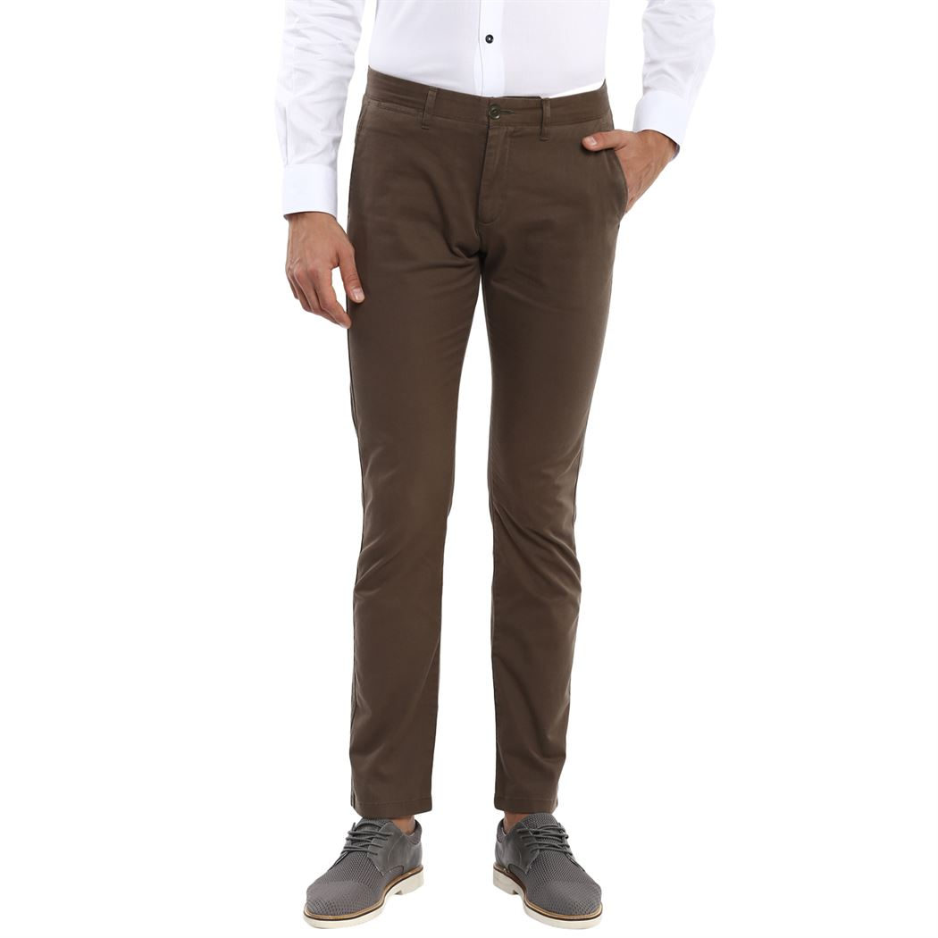 Celio Men Casual Wear Chino Pants