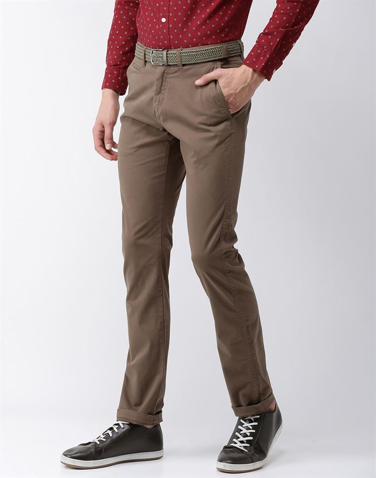 Celio Men Formal Wear Chino Pants