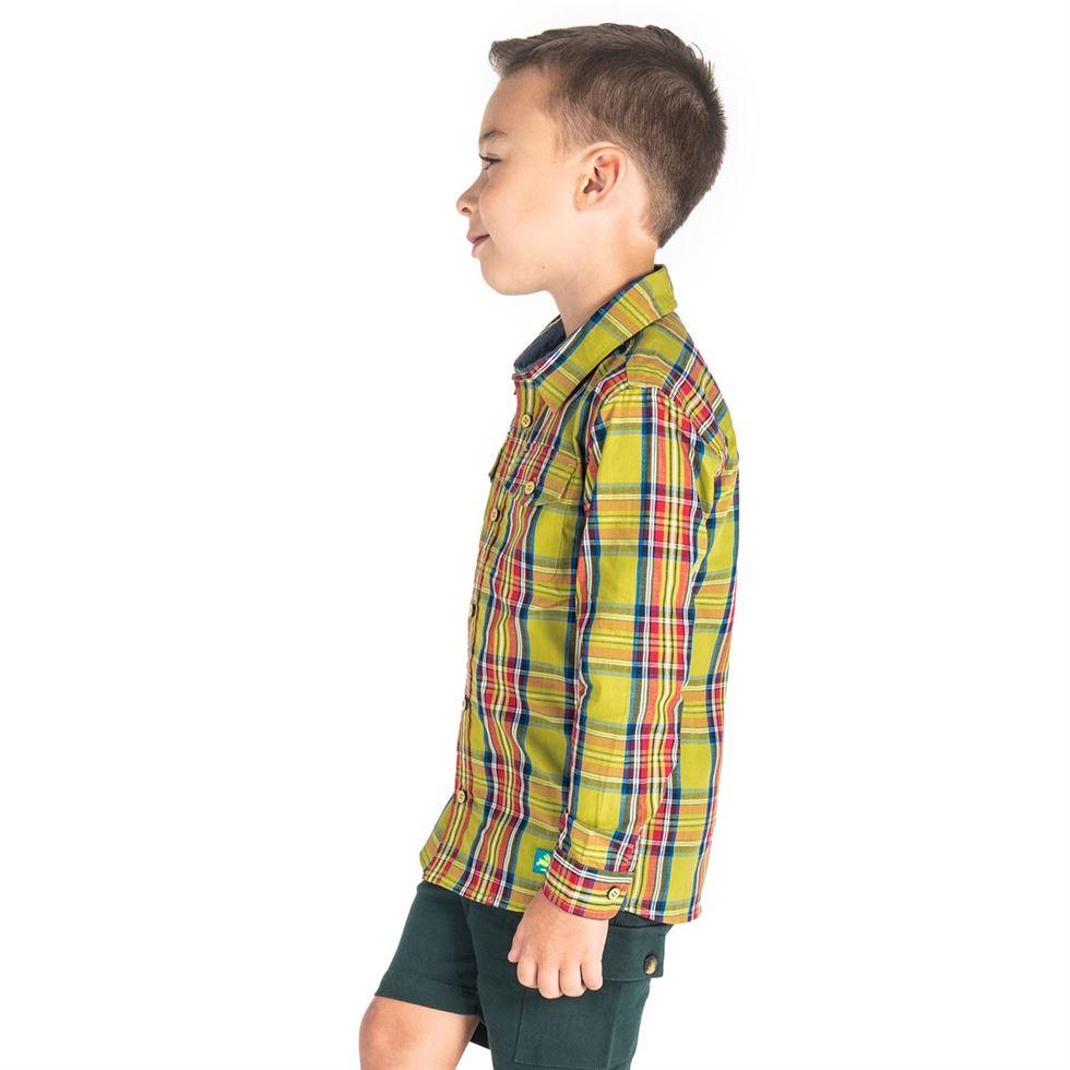 Cherry Crumble California Boys  Checkered Shirt