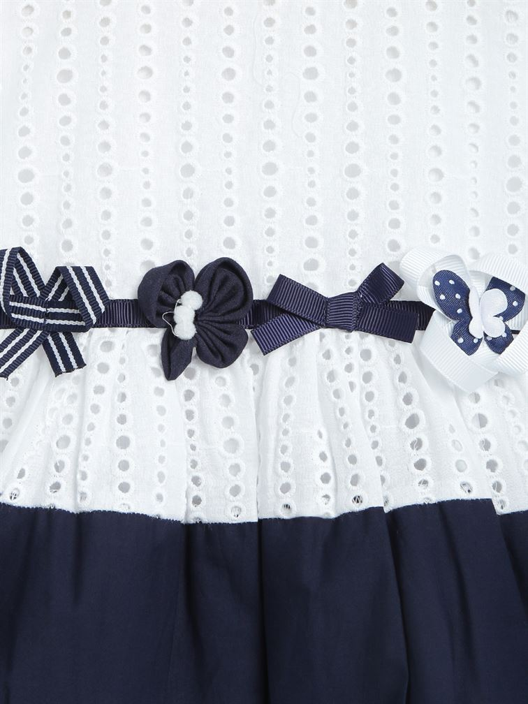 Chicco Girls Blue Casual Wear Frock