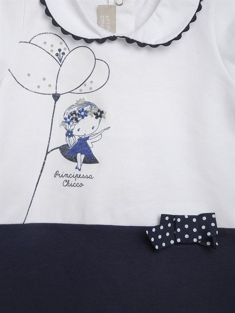 Chicco Girls Blue Casual Wear Top