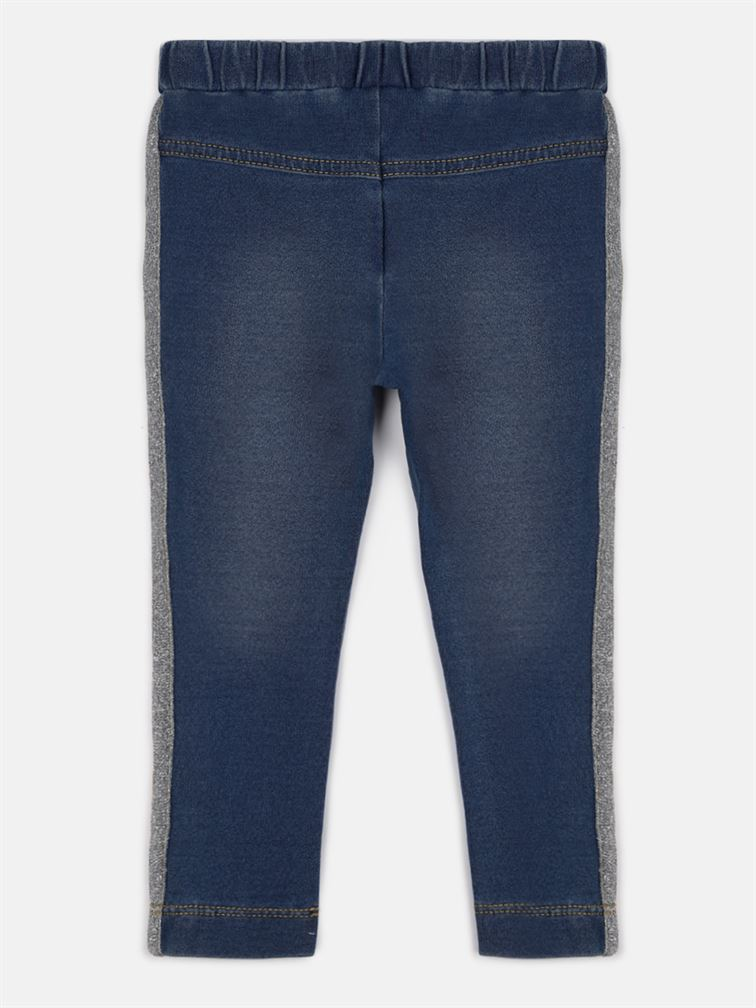 Chicco Girls Blue Casual Wear Trousers