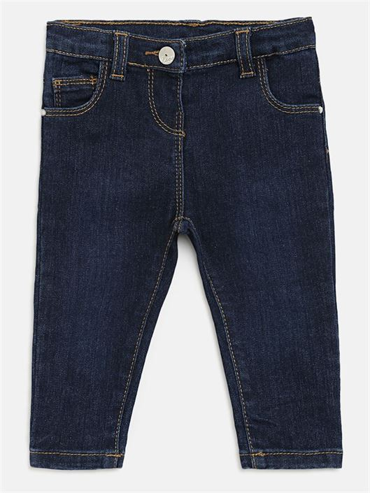 Chicco Girls Blue Casual Wear Jeans