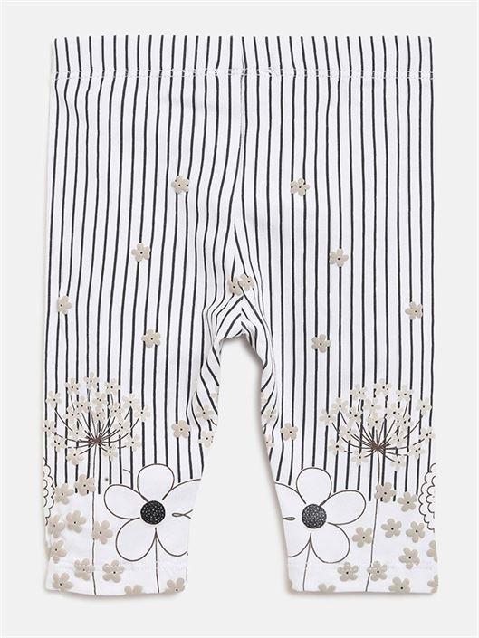 Chicco Girls Grey Casual Wear Leggings
