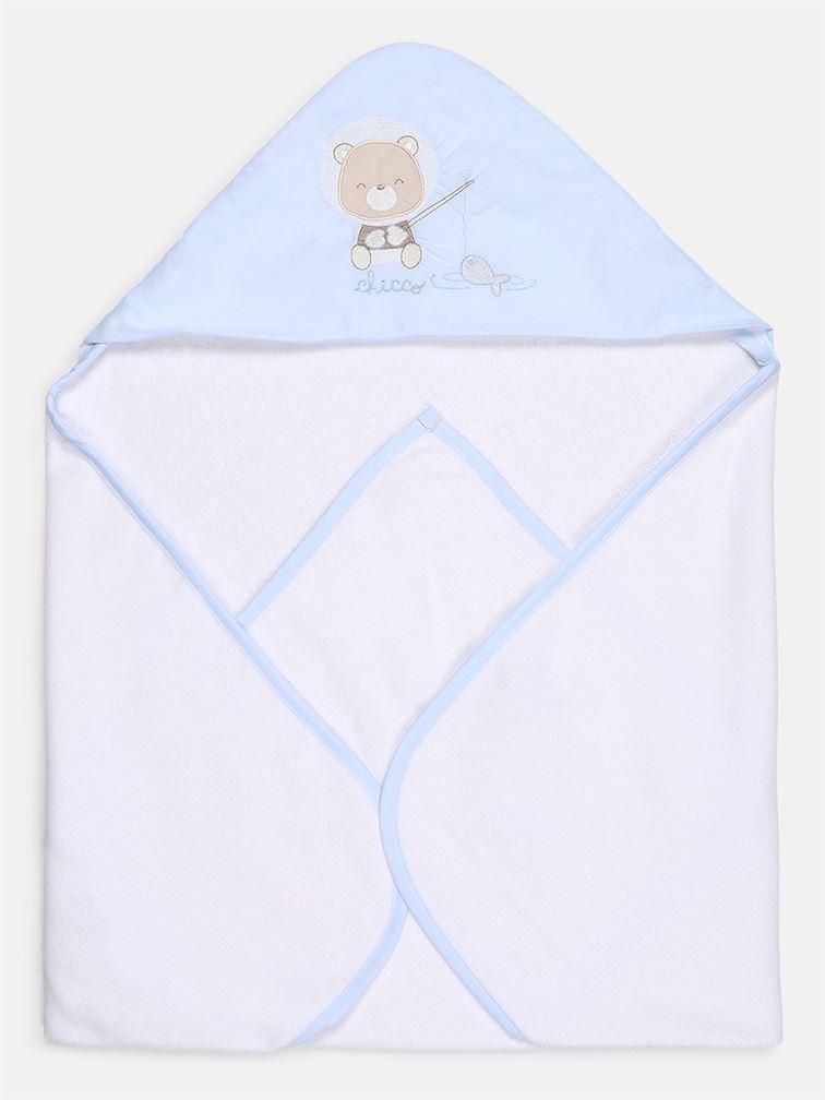 Chicco Boys Blue Casual Wear Towel