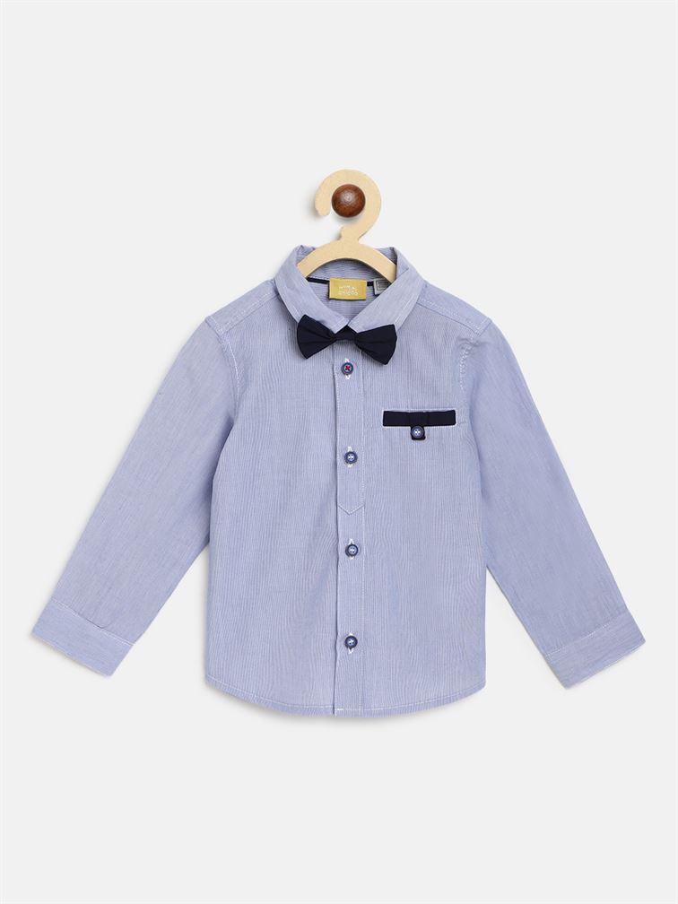 Chicco Boys Blue Casual Wear Shirt