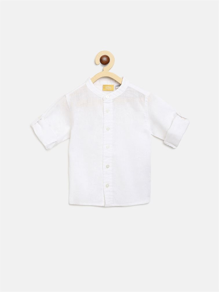 Chicco Boys White Casual Wear Shirt