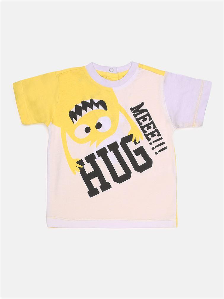 Chicco Boys Yellow Casual Wear T-Shirt