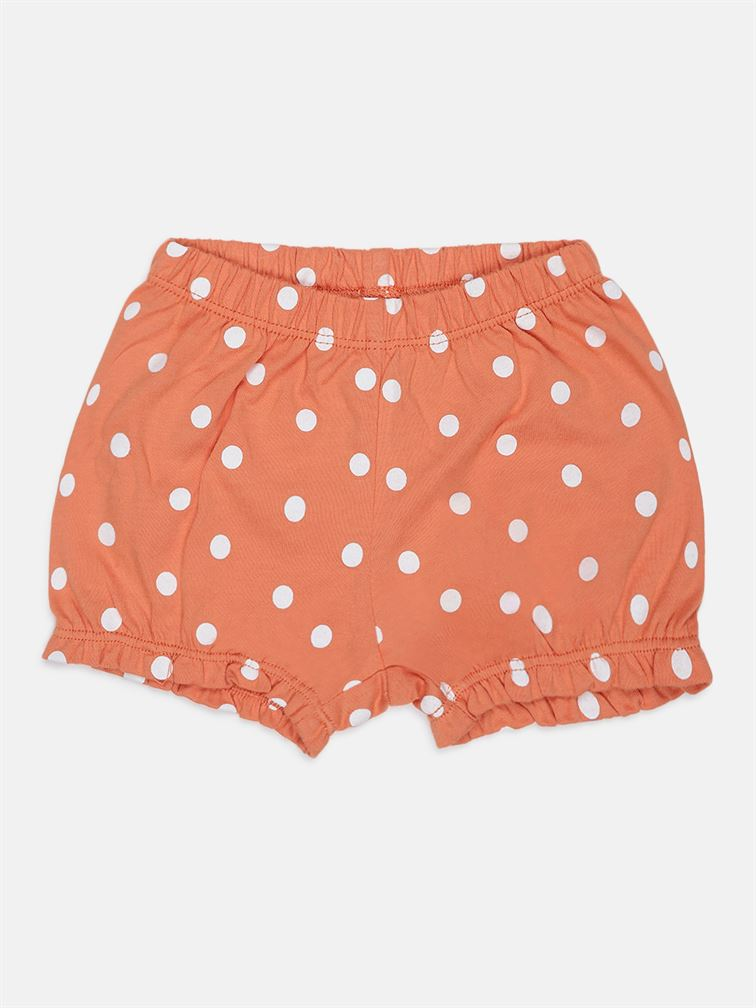 Chicco Girls Orange Casual Wear Set