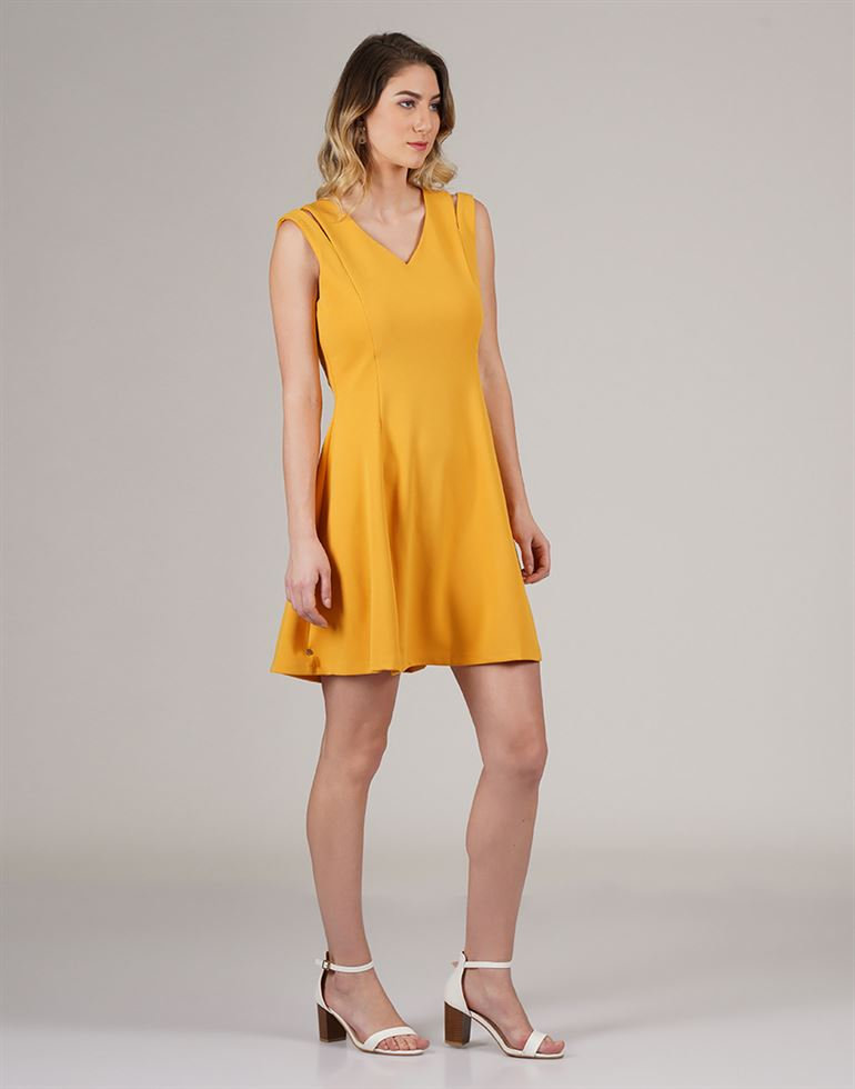 Cover Story Women Casual Wear Solid Dress