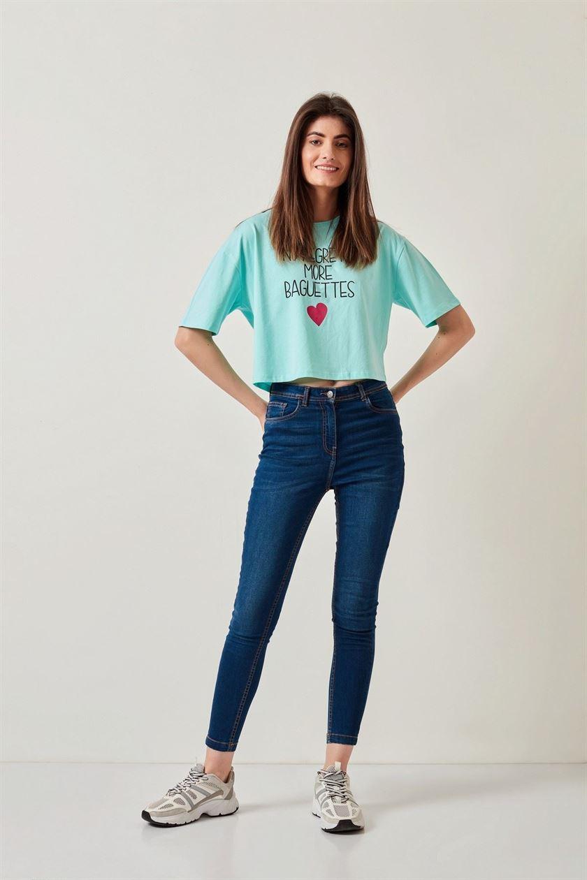 Cover Story Women Casual Wear Blue Jeans