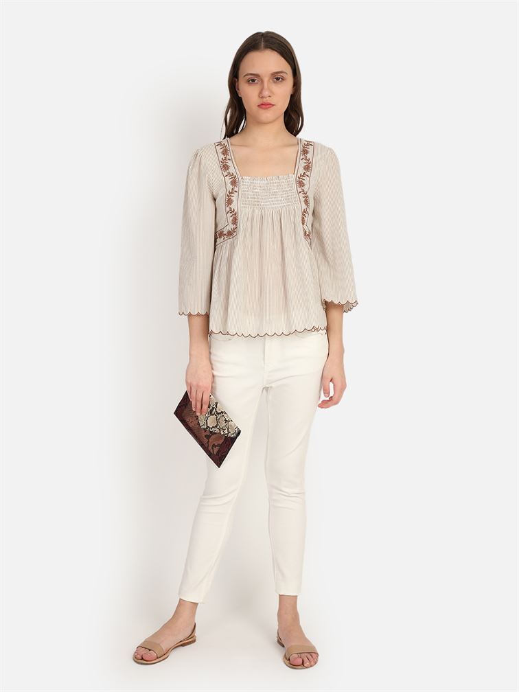 Cover Story Women's Regular Fit Casual Wear Top