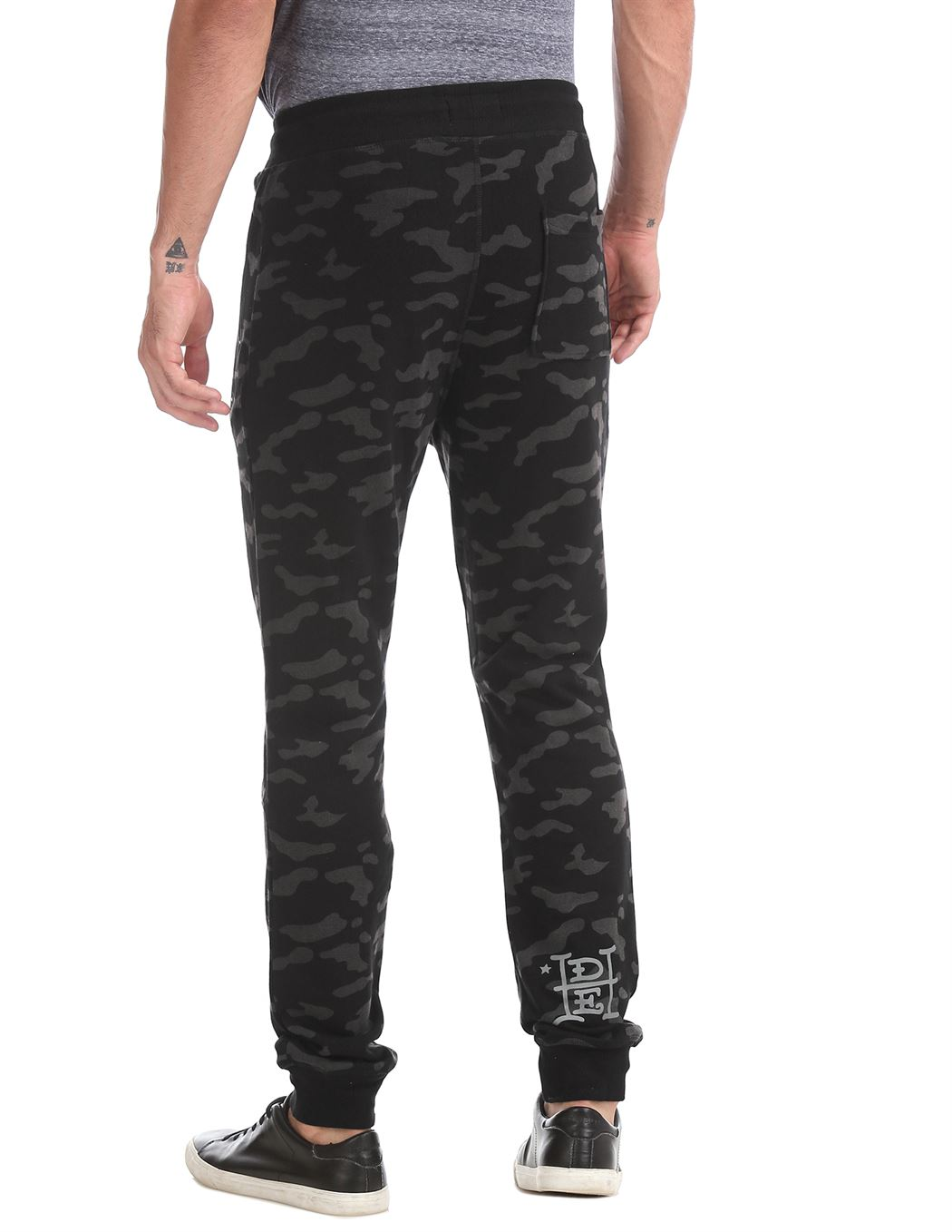 Ed Hardy Men Casual Wear Military Camouflage Track Pants
