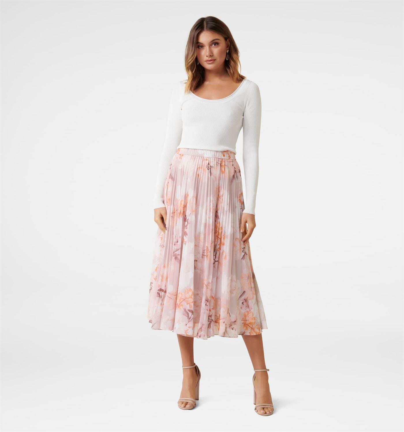 Forever New Women Casual Wear Multicolor Skirt