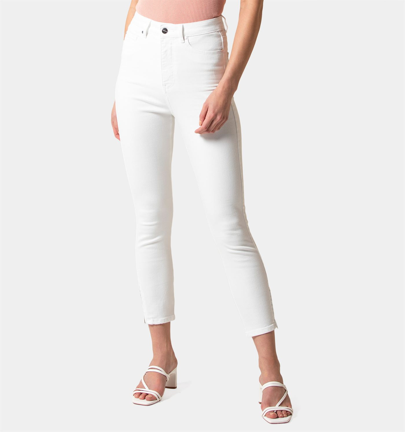 Forever New Women Casual Wear White Jeans