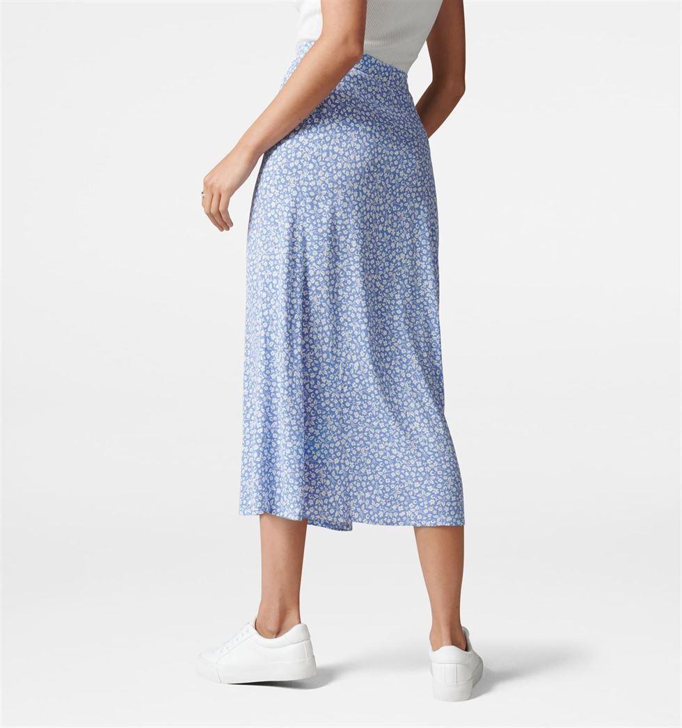 Forever New Women Casual Wear Blue Skirt