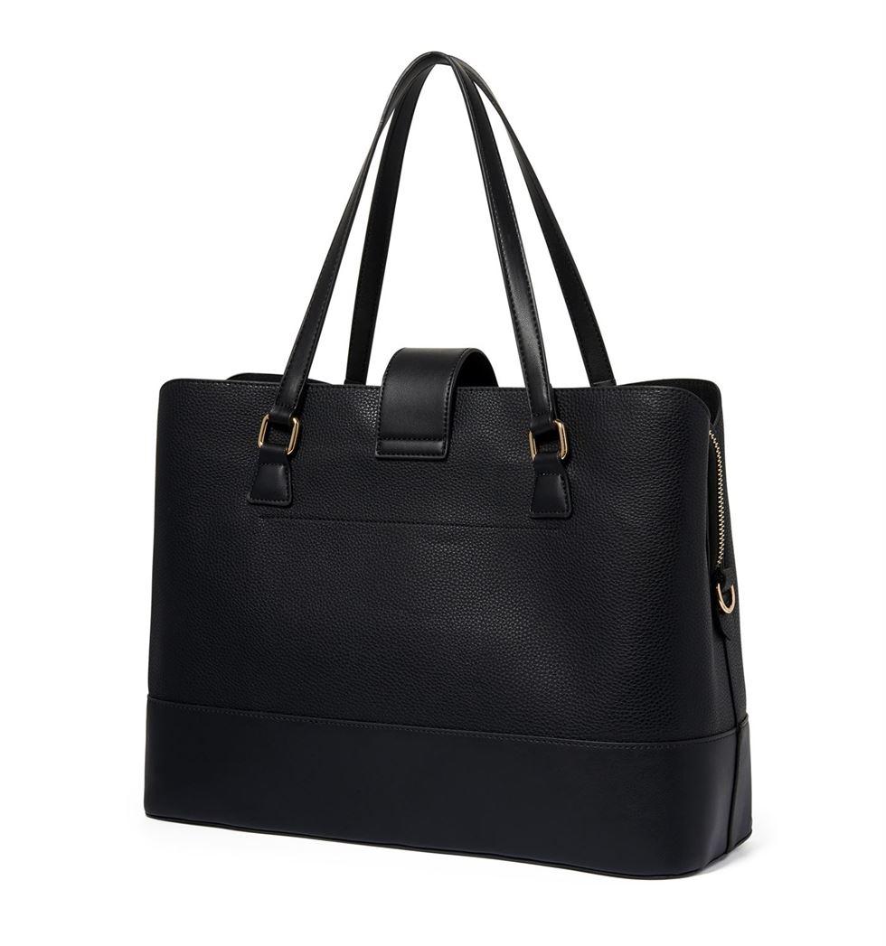 Forever New Women's Black Laptop Bag