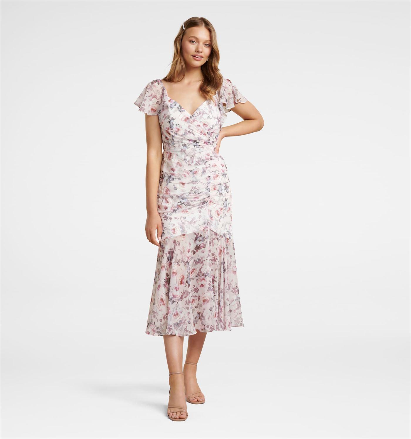Forever New Women Casual Wear Multicolor Dress